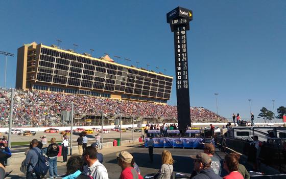 Atlanta Motor Speedway Scoring Tower.