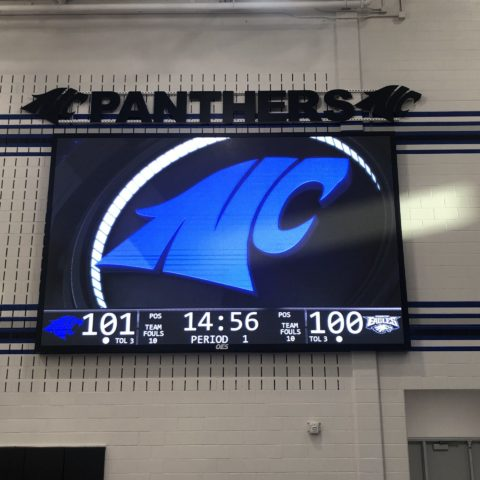 indoor full screen scoreboard