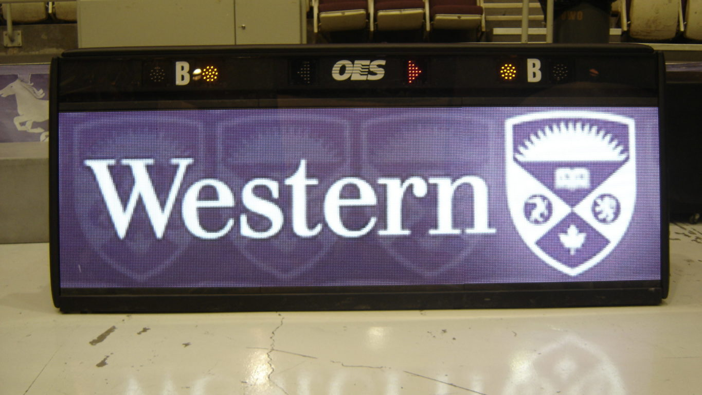 western score table indoors