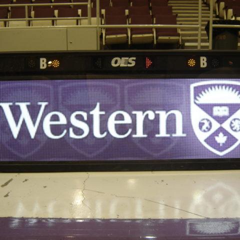 western score table indoors