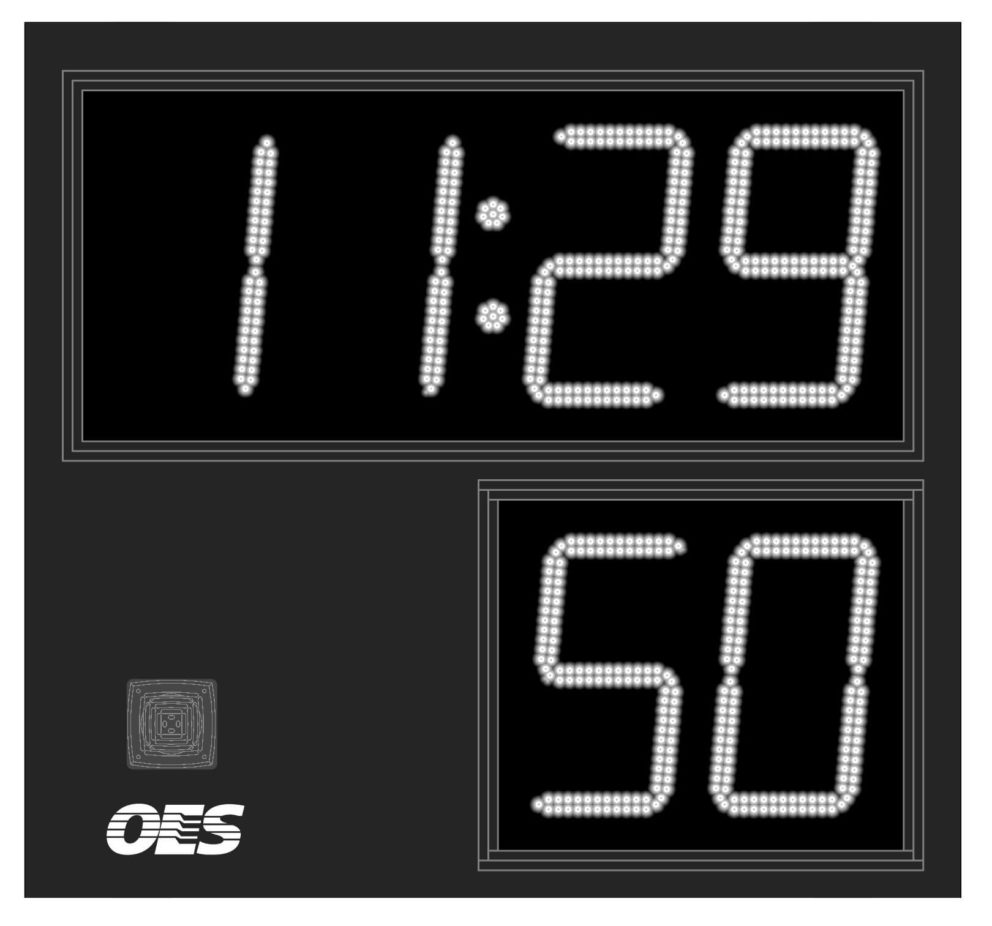 simple black scoreboard