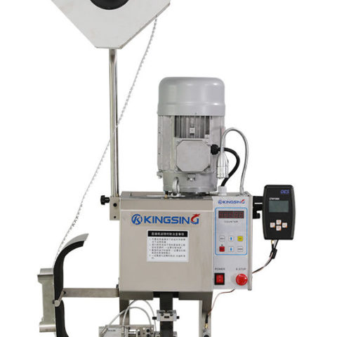 sample of an OES crimp monitor on a wire processing machine
