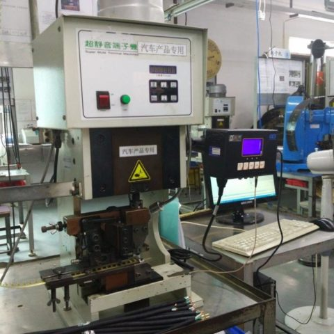 Machine in a wireprocessing factory